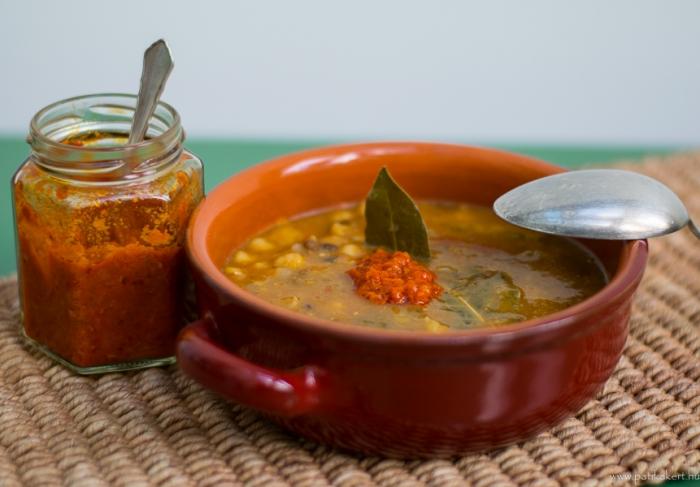 A tápláló és finom fűszeres étel, a harira leves