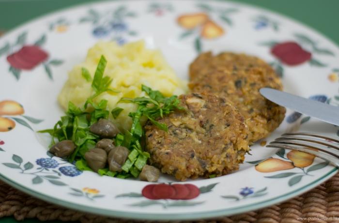 Vegetariánus és gluténmentes fasírt, rengeteg hasznos tápanyaggal