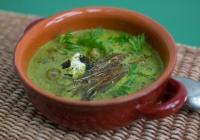 Zöld leves, avagy mindenből érdemes levest főzni …